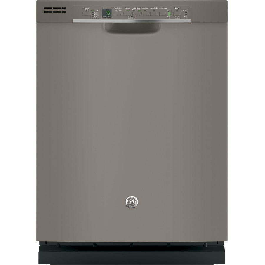 GE 51-Decibel Built-in Dishwasher with Bottle Wash Feature (Slate) (Common: 24-in; Actual: 23.75-in) ENERGY STAR