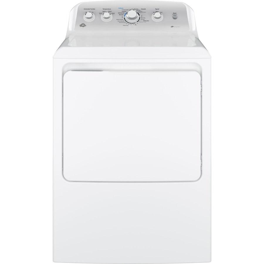 GE 7.2-cu ft Gas Dryer (White)