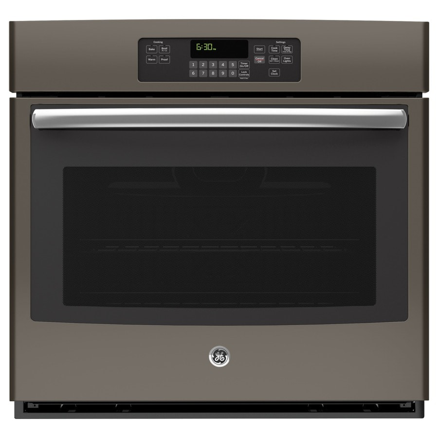 GE Self-Cleaning Single Electric Wall Oven (Slate) (Common: 30-in; Actual 29.75-in)