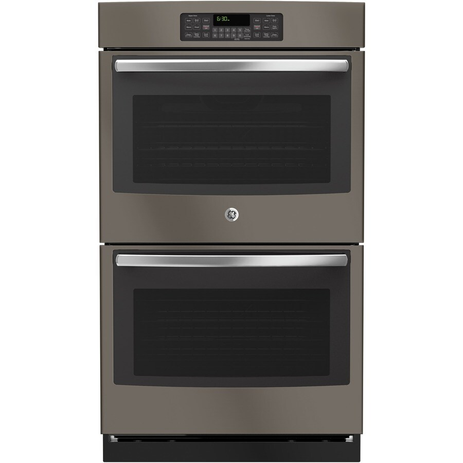 GE Self-Cleaning Double Electric Wall Oven (Slate) (Common: 30-in; Actual: 29.75-in)
