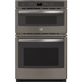 Ge Profile Self Cleaning Convection Microwave Wall Oven Combo Stainless Look Common