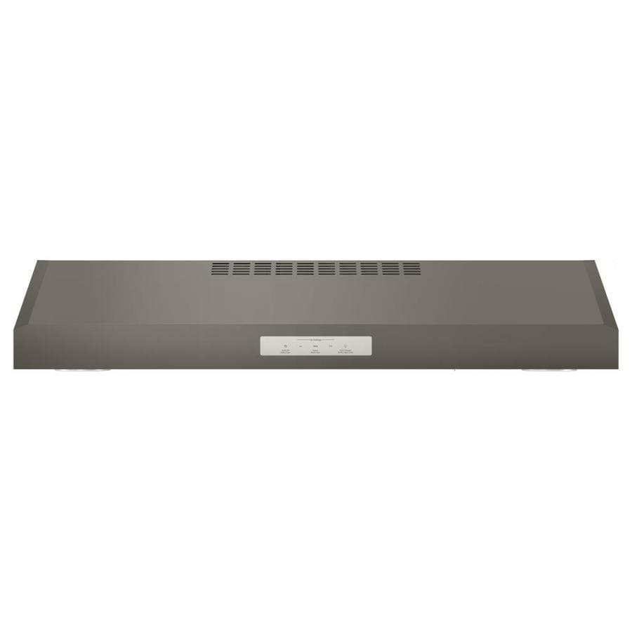 GE Profile Series Profile Undercabinet Range Hood (Slate) (Common: 30-in; Actual: 29.875-in)