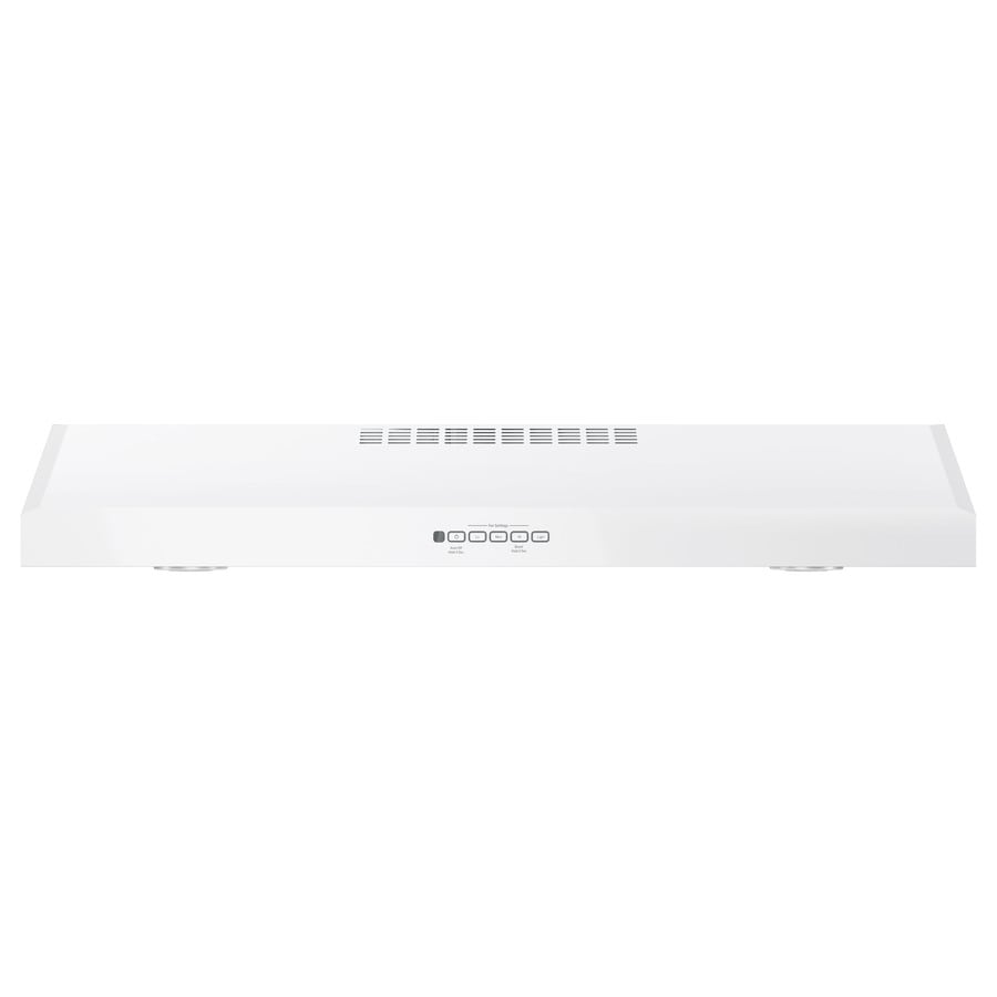 GE Undercabinet Range Hood (White On White) (Common: 36-in; Actual: 35.875-in)