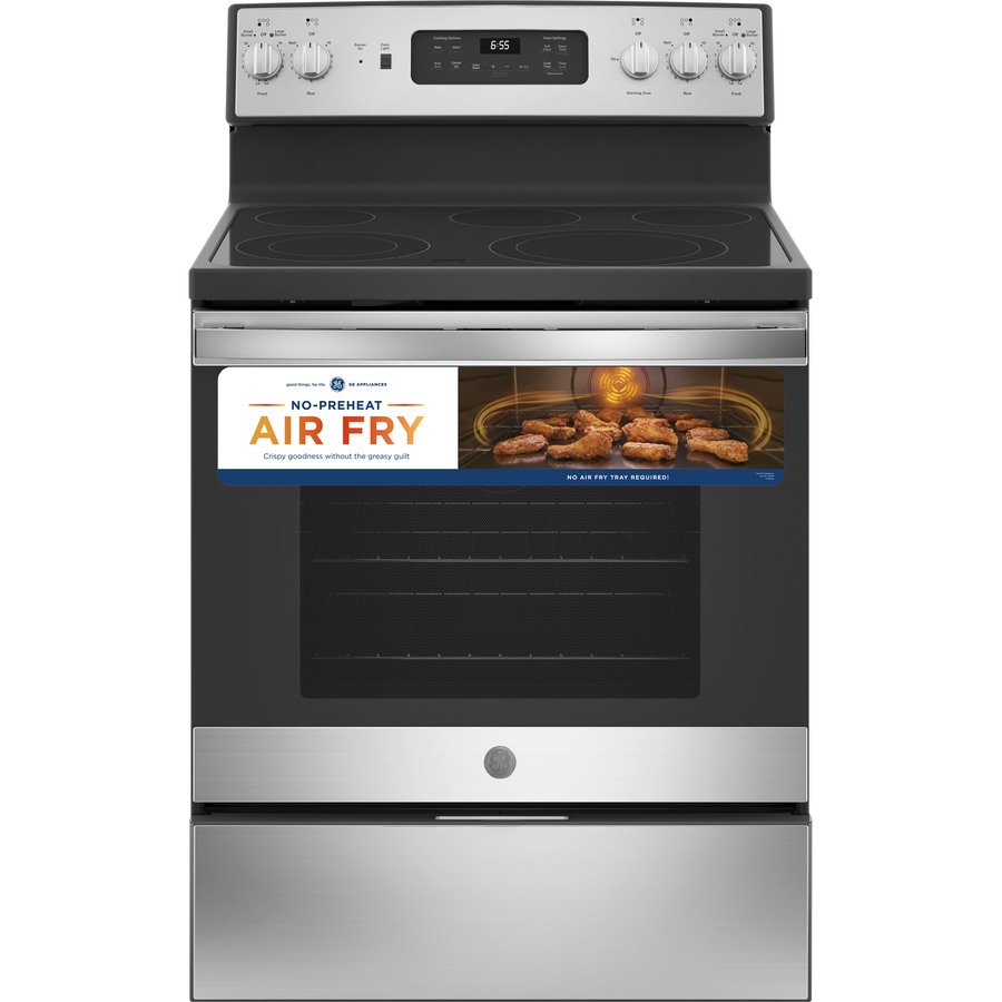 Electric Stoves Ranges ~ Shop ge smooth surface freestanding element cu ft