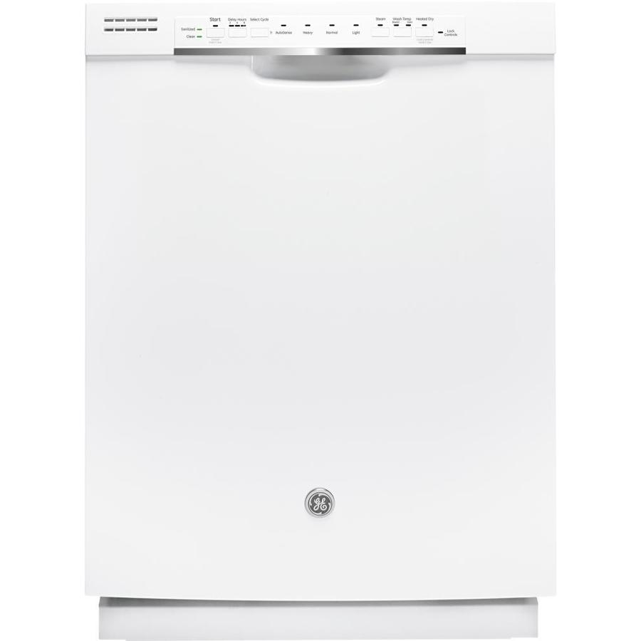 GE 48-Decibel Built-In Dishwasher (White) (Common: 24-in; Actual: 23.75-in) ENERGY STAR