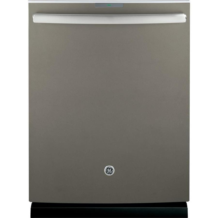 GE Profile Series 42-Decibel Built-in Dishwasher with Bottle Wash Feature and Hard Food Disposer (Slate) (Common: 24-in; Actual: 23.75-in) ENERGY STAR