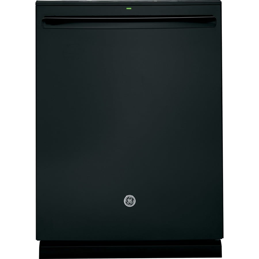 GE Profile Series 45-Decibel Built-in Dishwasher with Hard Food Disposer Bottle Wash Feature (Black) (Common: 24-in; Actual: 23.75-in) ENERGY STAR
