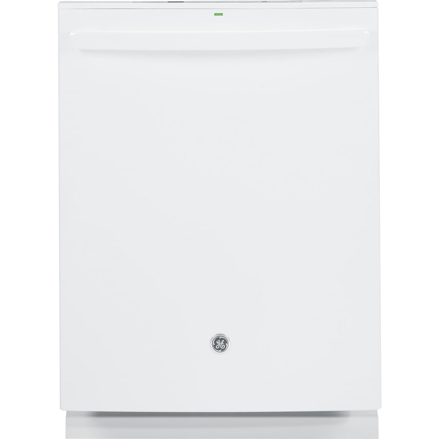 GE Profile Series 45-Decibel Built-in Dishwasher with Hard Food Disposer Bottle Wash Feature (White) (Common: 24-in; Actual: 23.75-in) ENERGY STAR