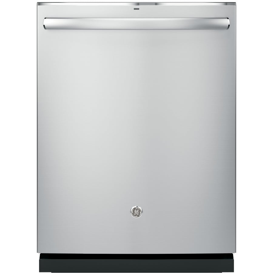 GE Profile Series 45-Decibel Built-in Dishwasher with Bottle Wash Feature and Hard Food Disposer (Stainless) (Common: 24-in; Actual: 23.75-in) ENERGY STAR