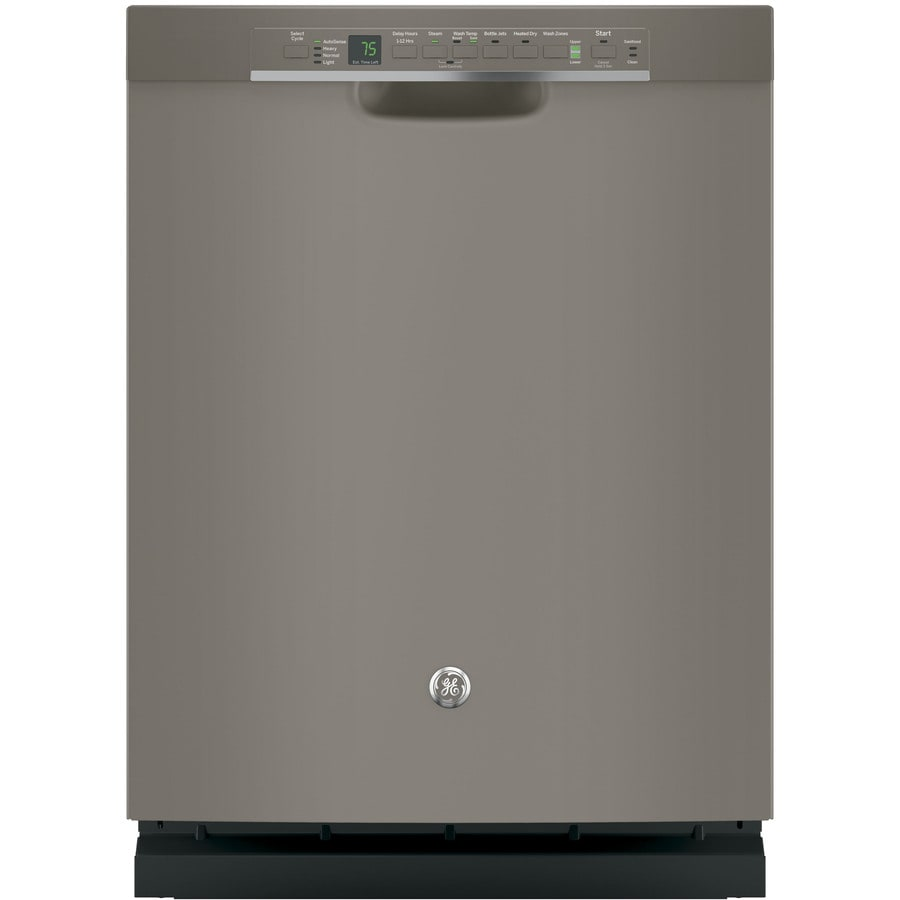 GE 46-Decibel Built-In Dishwasher with Bottle Wash Feature (Slate) (Common: 24-in; Actual: 23.75-in) ENERGY STAR