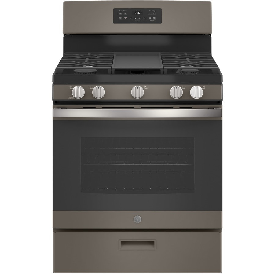 Shop Ge 5 Burner Freestanding 5 Cu Ft Gas Range