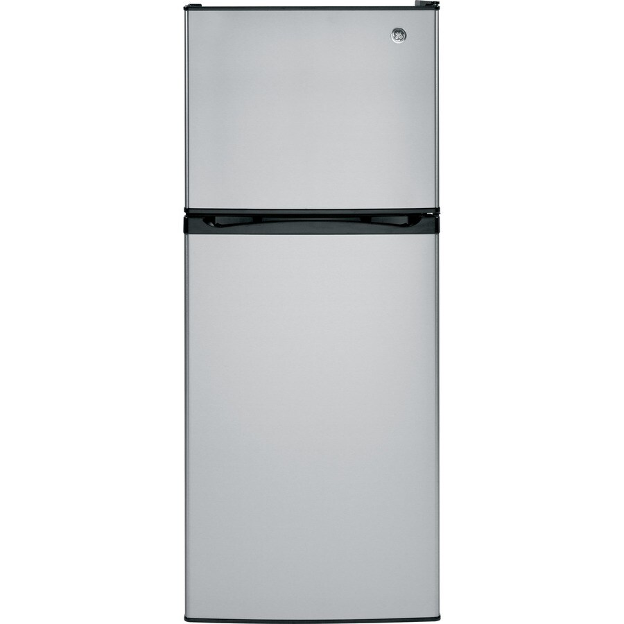 GE 11.55-cu ft Top-Freezer Refrigerator (Stainless steel) ENERGY STAR