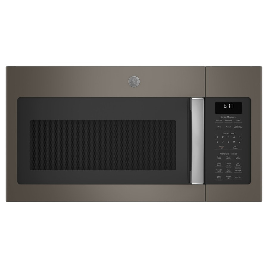 Ge 1 7 Cu Ft Over The Range Microwave With Sensor Cooking Controls
