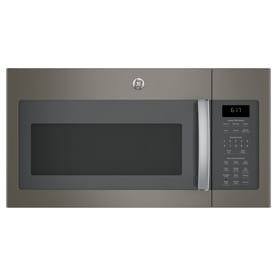 GE 1.7-cu ft Over-the-Range Microwave with Sensor Cooking (Fingerprint-Resistant Slate) (Common: 30-in; Actual: 29.875-in)