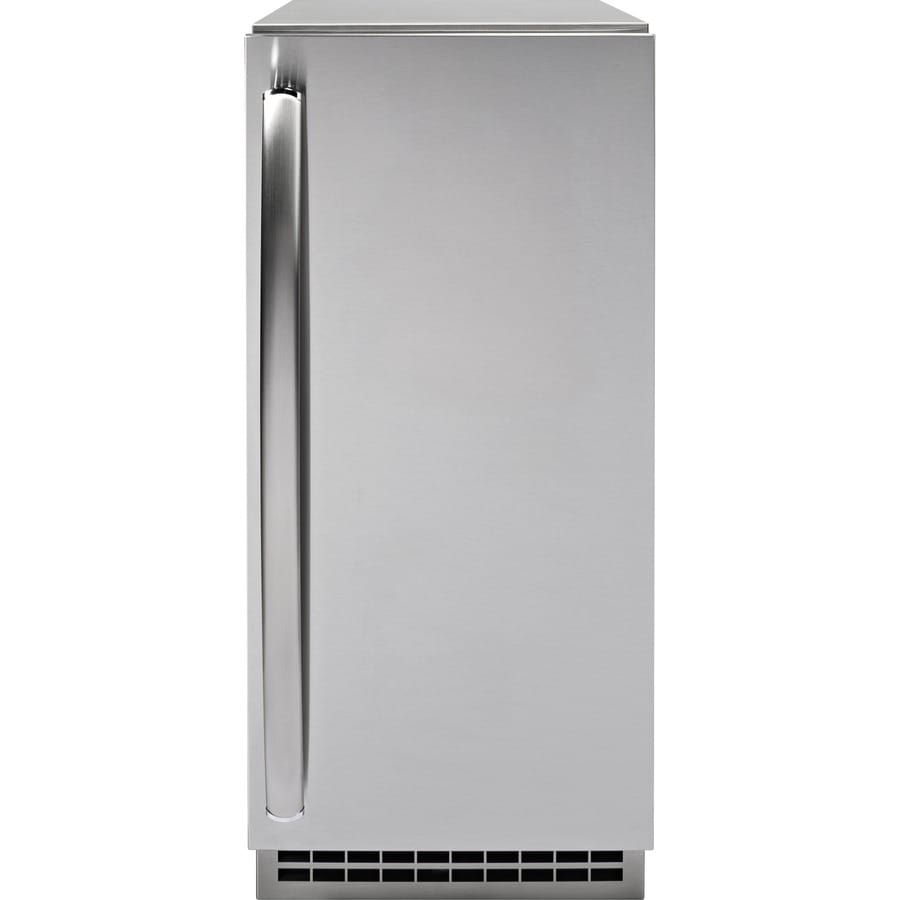 GE Profile Series 65-lb Freestanding/Built-in Ice Maker (Panel Ready)
