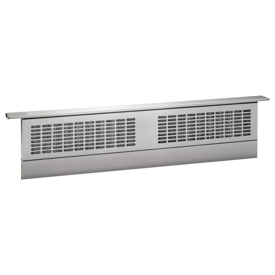 GE 36-in Downdraft Range Hood (Stainless steel)