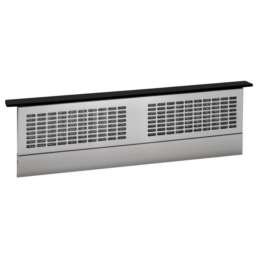 Shop Ge 30 In Downdraft Range Hood Black At Lowes Com
