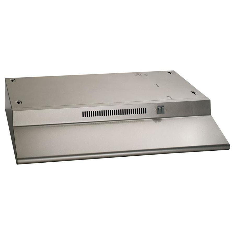 GE Undercabinet Range Hood (Silver) (Common: 30-in; Actual: 29.875-in)