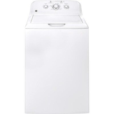 GE 3 8-cu ft Top-Load Washer (White) at Lowes com
