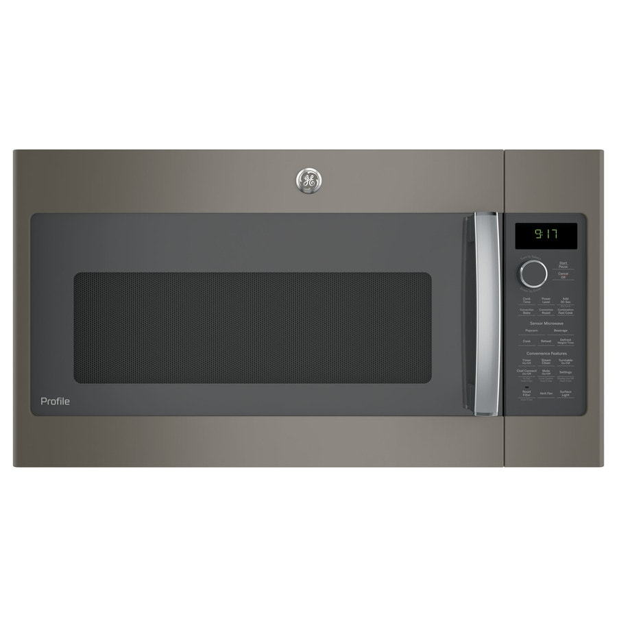 Ge Profile Series 1 7 Cu Ft Over The Range Convection Microwave With Sensor