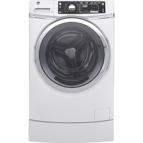 Ge 4 9 Cu Ft High Efficiency Front Load Washer White