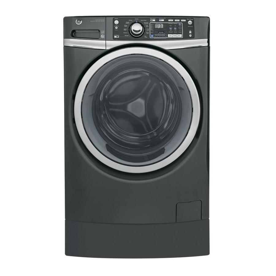 Ge 4 9 Cu Ft High Efficiency Front Load Washer Diamond