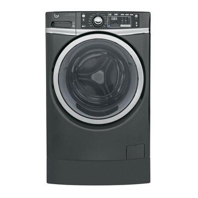 GE 4 9-cu ft High Efficiency Front-Load Washer (Diamond Gray