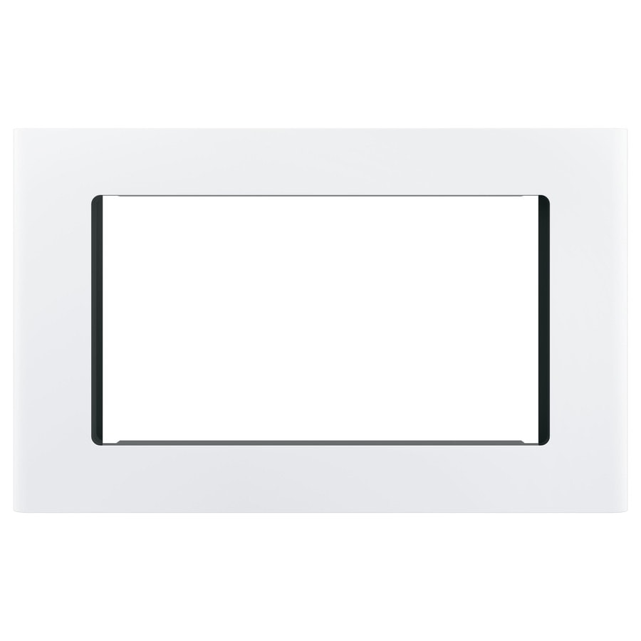 GE Profile Series Built-In Microwave Trim Kit (White)