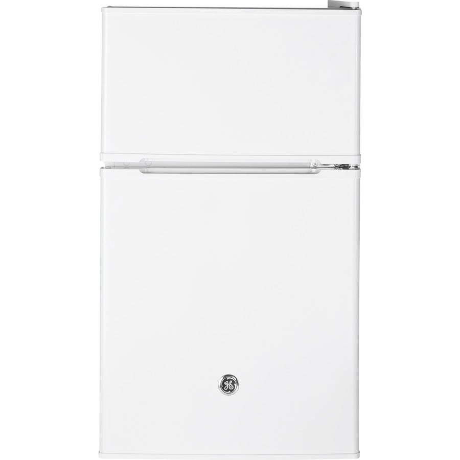 GE 3.1-cu ft Freestanding Compact Refrigerator with Freezer Compartment (White) ENERGY STAR