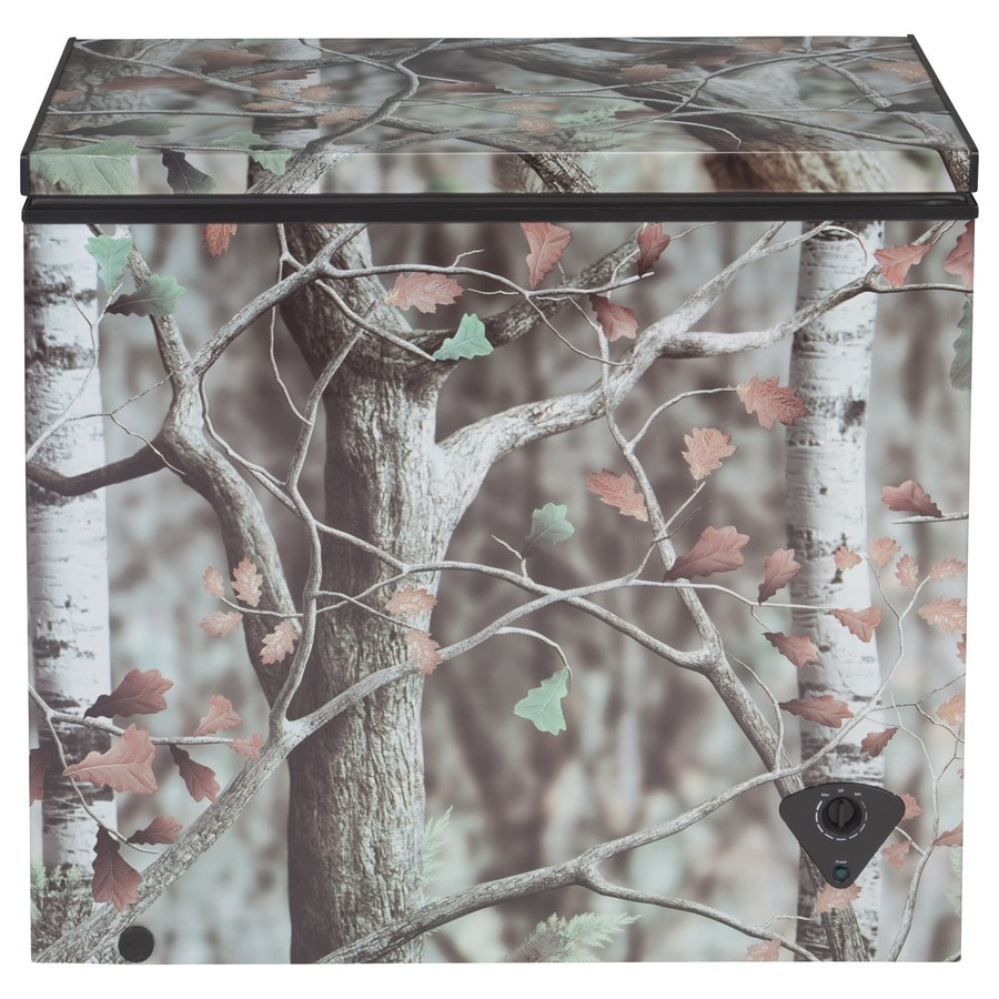 GE 7-cu ft Chest Freezer (Camouflage)