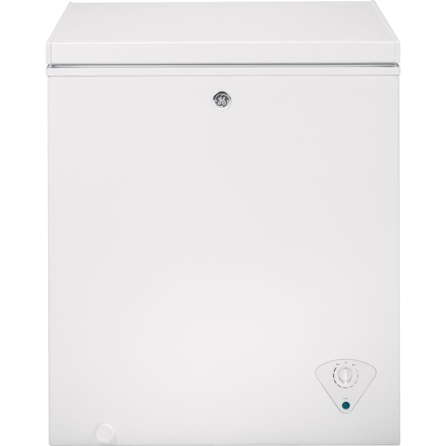 Shop Ge 5 Cu Ft Chest Freezer White At Lowes Com