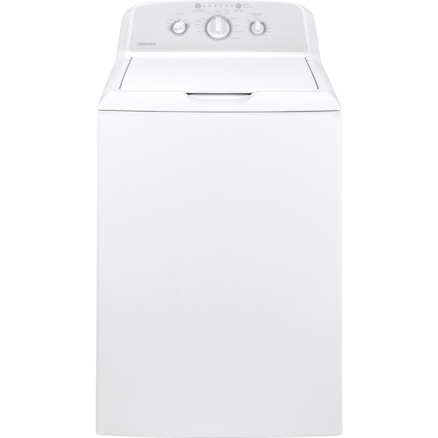 Hotpoint 3.8-cu ft Top-Load Washer (White)