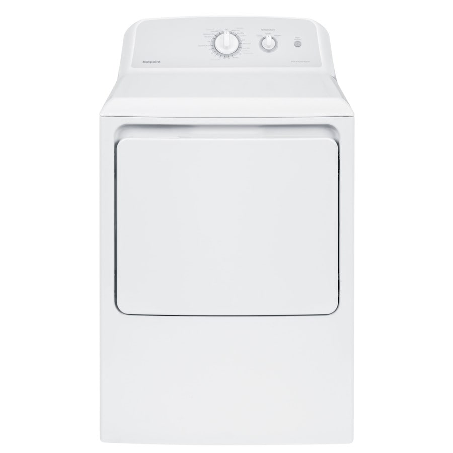 Hotpoint 6.2-cu ft Electric Dryer (White)
