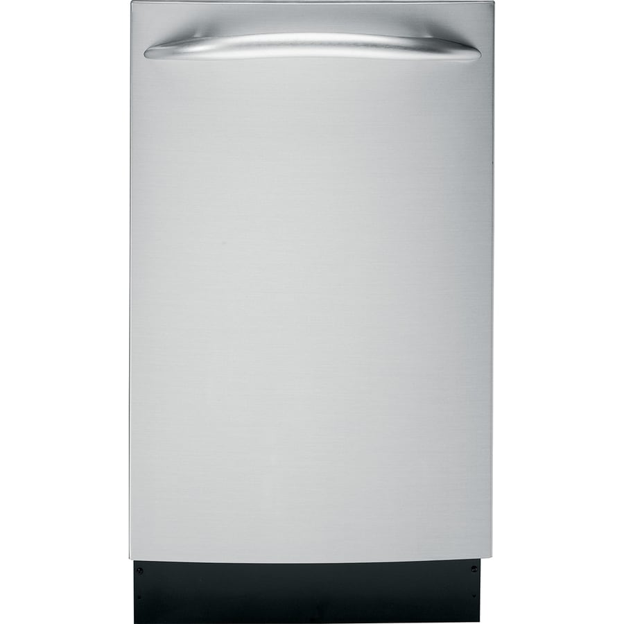 GE Profile 60-Decibel Built-In Dishwasher (Stainless Steel) (Common: 18-in; Actual: 18-in)