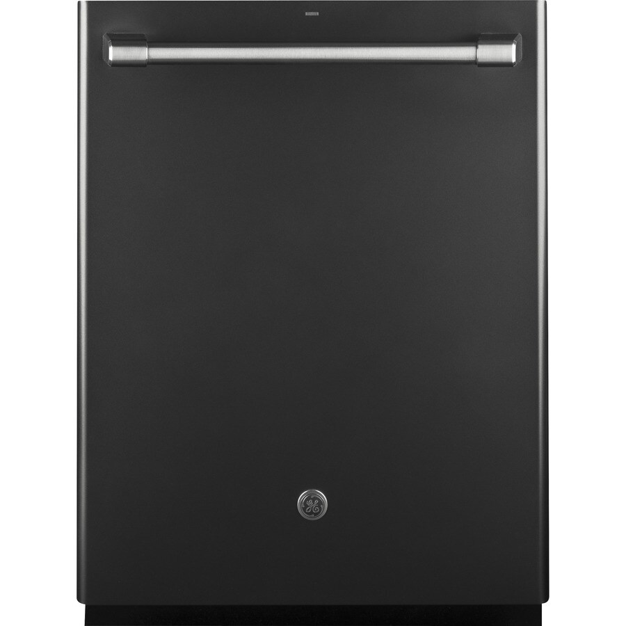 GE Cafe Series 40-Decibel Built-In Dishwasher with Bottle Wash Feature and Hard Food Disposer (Black Slate) (Common: 24-in; Actual: 23.75-in) ENERGY STAR