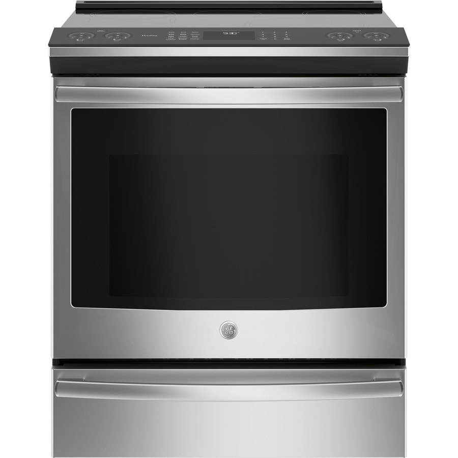 Etonnant GE Profile 5 Element 5.3 Cu Ft Self Cleaning True Convection Slide