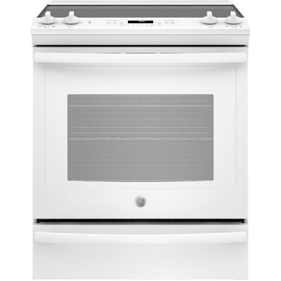 GE Smooth Surface 5-Element 5.3-cu ft Self-Cleaning True ...