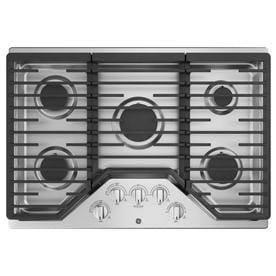 GE 5 Burner Gas Cooktop (Stainless Steel) (Common: 30  In