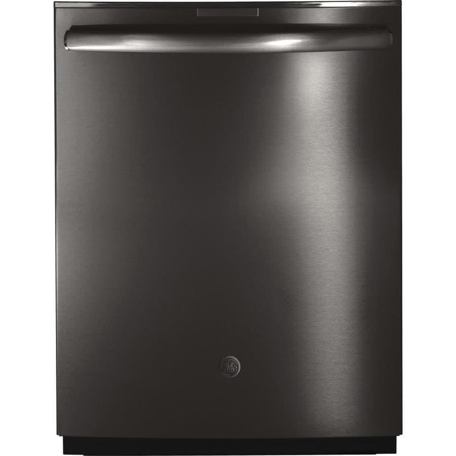 GE Profile 42-Decibel Built-in Dishwasher with Bottle Wash Feature Hard Food Disposer (Black Stainless) Common: 24 -in; Actual: 23.75-in)