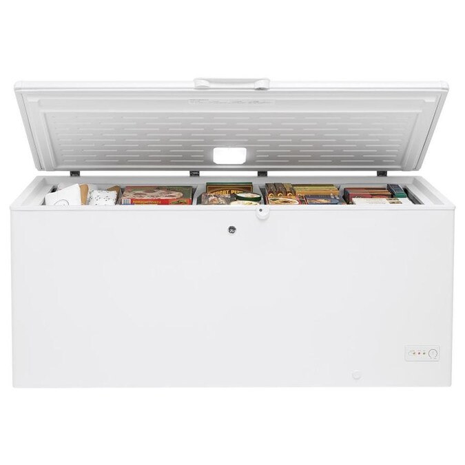 Ge Garage Ready 21 7 Cu Ft Manual Defrost Chest Freezer With Temperature Alarm White Energy Star In The Chest Freezers Department At Lowes Com Call, order online or visit our showrooms. lowe s