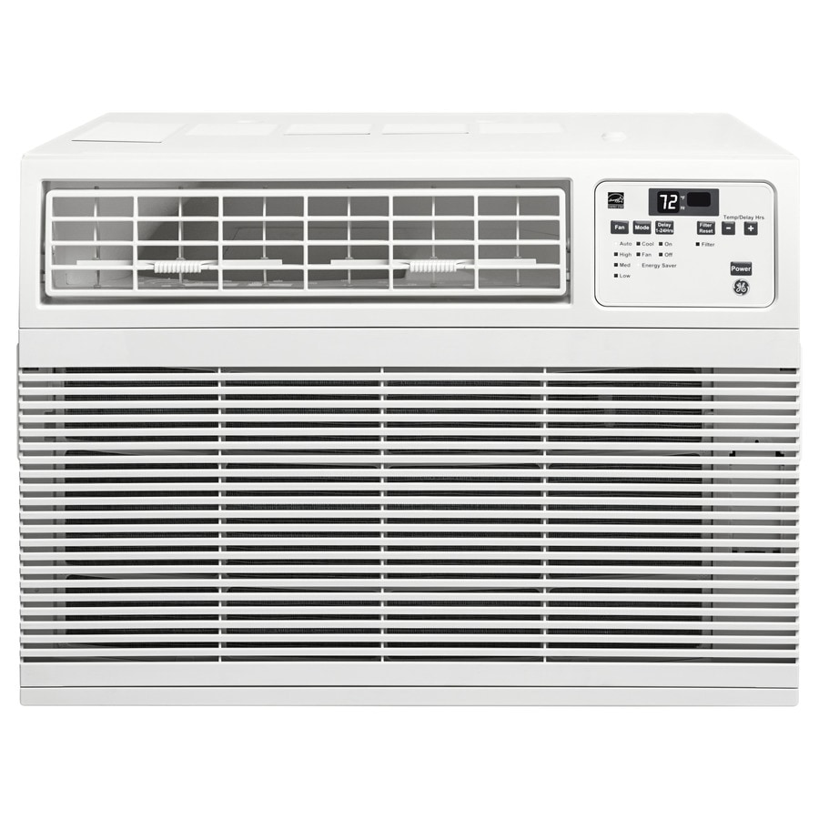 shop ge 10000 btu 450 sq ft 115 volt window air