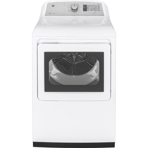Ge 7 4 Cu Ft Electric Dryer White Energy Star At Lowes Com