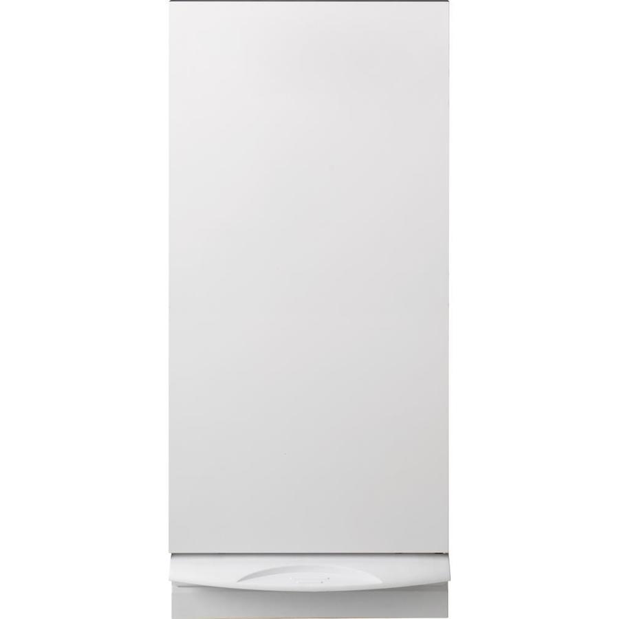 GE 14.875-in White Undercounter Trash Compactor
