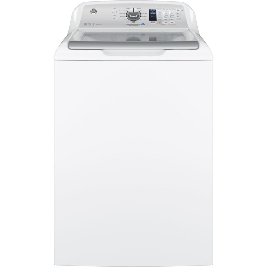 GE 4.5 Cu Ft High-Efficiency Top-Load Washer (White) ENERGY STAR
