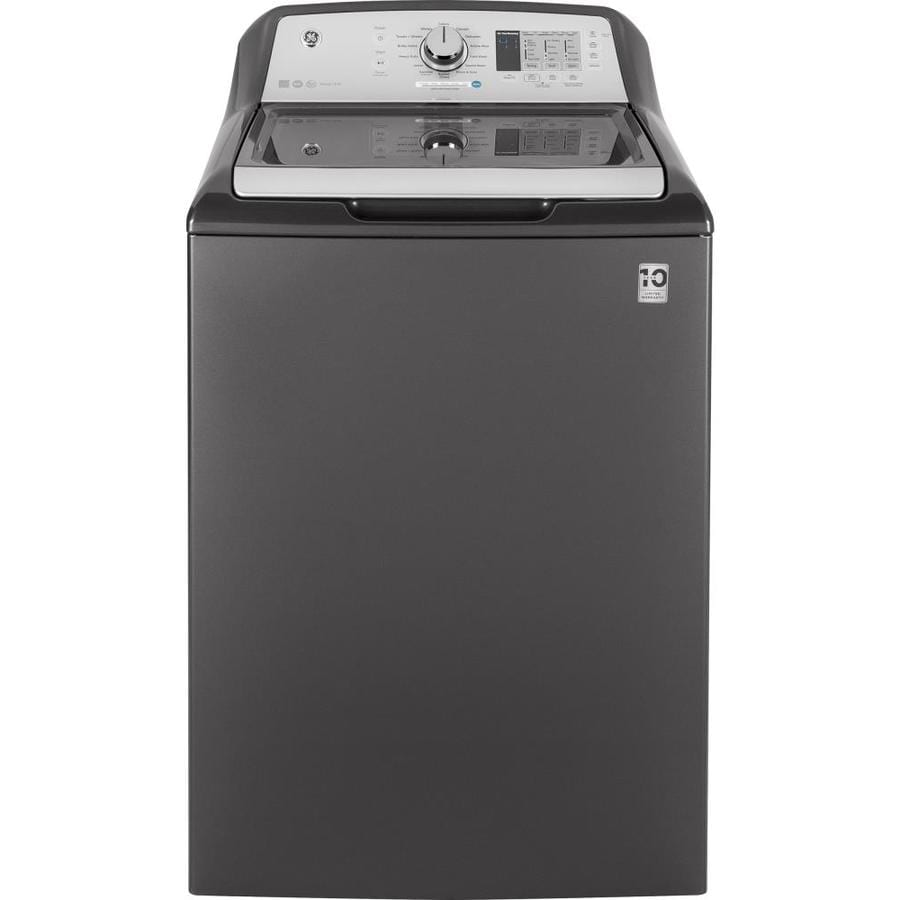 GE 4.6-cu ft Top-Load Washer (Diamond Gray)