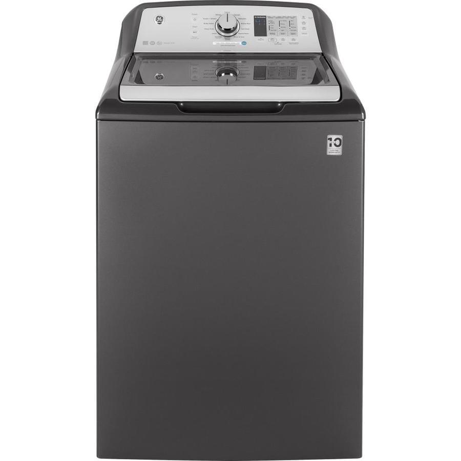 Shop Ge 4 5 Cu Ft Top Load Washer With Agitator Diamond
