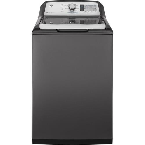 Efficiencies Near Me: GE 5-cu Ft High Efficiency Top-Load Washer (Gray) ENERGY