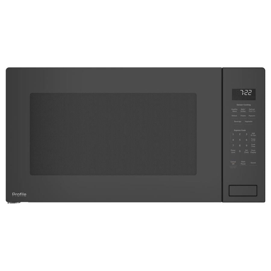 GE Profile 2.2-cu ft Built-In Microwave with Sensor Cooking Controls (Stainless Steel)
