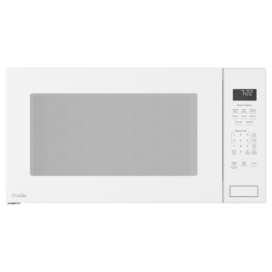 Ge 2 Cu Ft Built In Sensor Microwave Oven