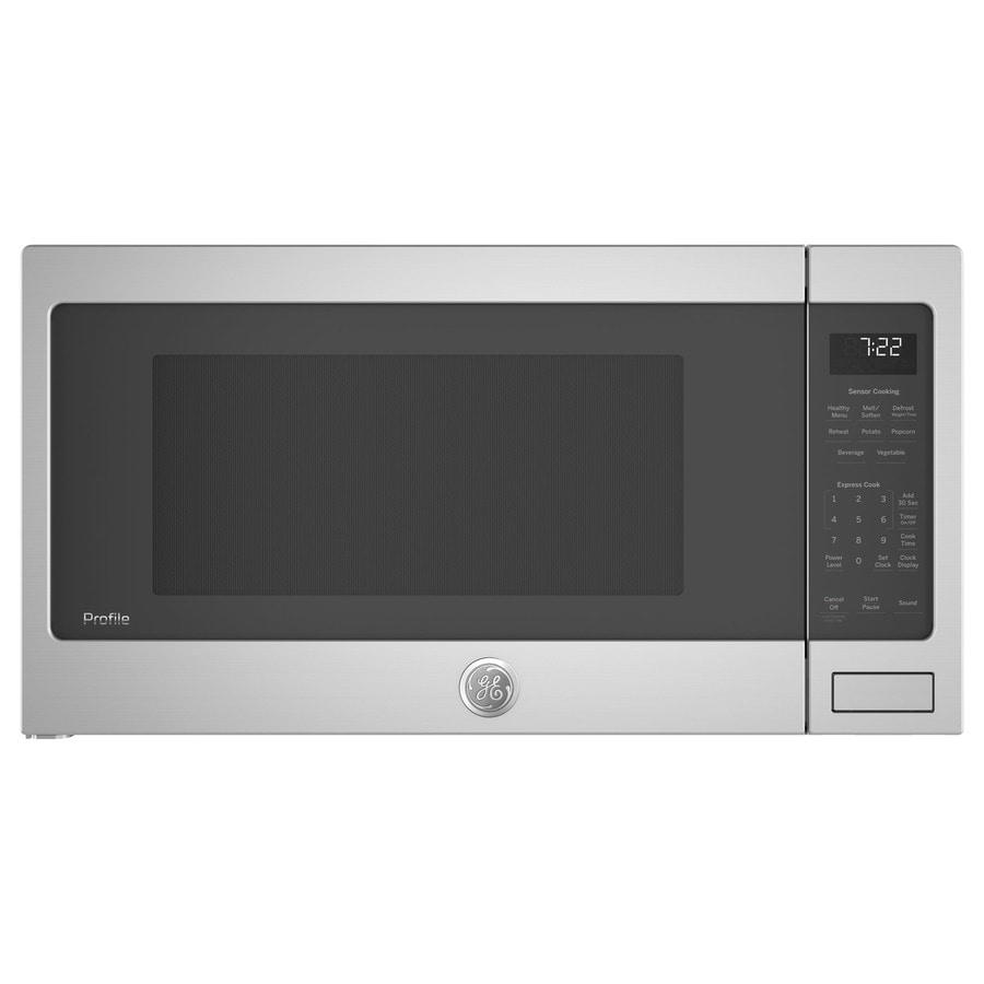 Ge Profile 2 2 Cu Ft 1100 Watt Countertop Microwave